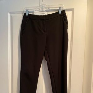 Express black work pant